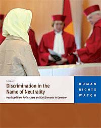 « Les lois en Allemagne ciblent clairement le foulard » (HRW)