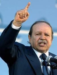 Le candidat et président sortant Abdelaziz Bouteflika, au pouvoir depuis 1999.