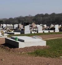 Un carré musulman dans un cimetière du Nord