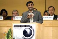 le président iranien Mahmoud Ahmadinejad.
