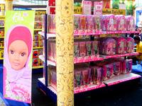 Fulla se vend aussi au Brésil, en Chine, en Europe... Ici, en Indonésie, durant le mois de ramadan 2008.