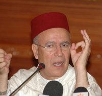 Ahmed Toufiq, ministre marocain des Habous et des Affaires islamiques.