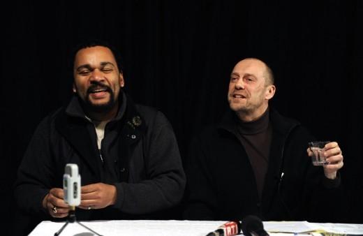 Dieudonné M'Bala M'Bala et Alain Soral.