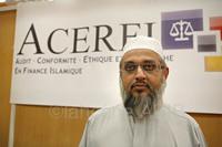 Mohammad Patel, membre d'ACERFI, premier shariah board francophone.