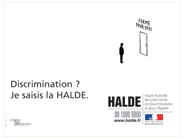 Discriminations : sombre rapport