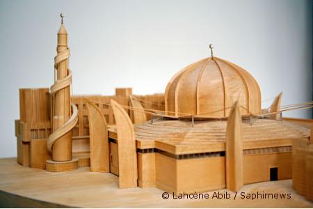 La future Grande Mosquée de Strasbourg est évaluée à 8,5 millions d'euros.
