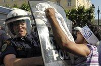 Grèce : nouvelle manifestation d'immigrés musulmans, incidents à Athènes