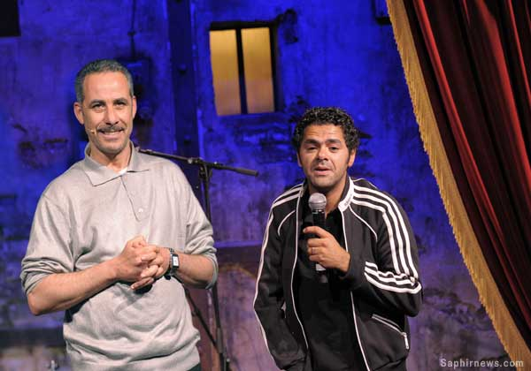Abdelkader Secteur et Jamel Debbouze au Comedy Club