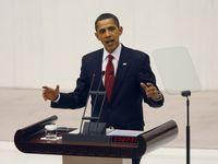 Le président américain, Barack Obama, lors de sa visite à Ankara, en Turquie, le 6 avril dernier.