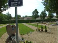 25 mai 2009 : inauguration du carré musulman, d'une capacité d'accueil de 120 places, à Bourg-en-Bresse (Ain).