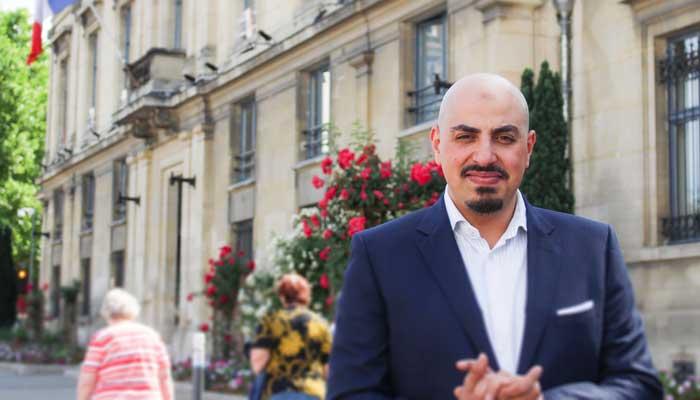 Marwan Muhammad, directeur du CCIF et auteur de « Nous (aussi) sommes la Nation ».