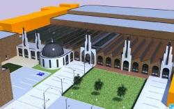 Quartier du Pile : la future mosquée se dessine