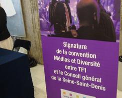 TF1 et le conseil général du 93 soutiennent la diversité dans les médias