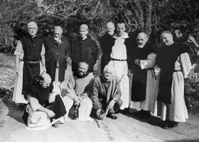 Les moines de Tibéhirine en Algérie (photo non datée, © AFP).