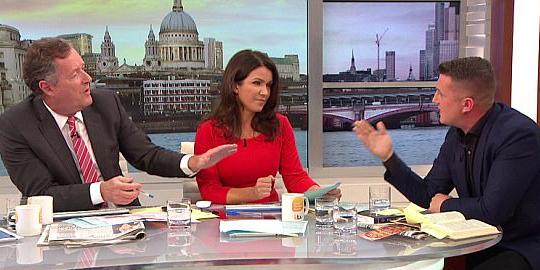 Grande-Bretagne : face à l'islamophobie, Piers Morgan dégomme un militant d'extrême droite (vidéo)