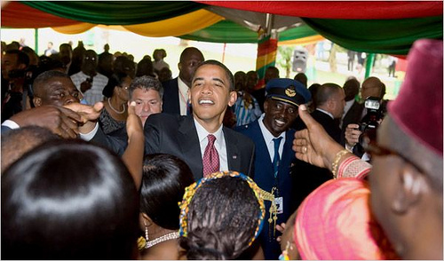 Barack Obama a choisi le Ghana pour sa première visite en Afrique en tant que chef d'Etat.