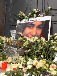 Dresde : des centaines de roses blanches pour Marwa