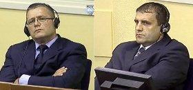 Les cousins Milan (à gauche) et Sredoje Lukic, lourdement condamnés par le TPIY