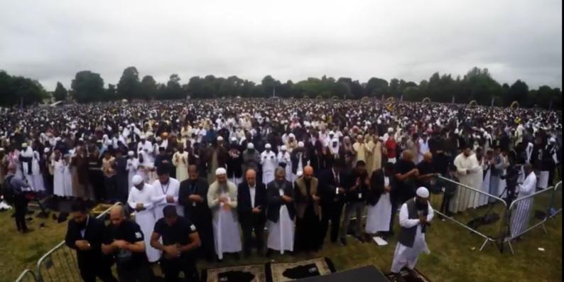 A Birmingham, le plus large rassemblement des musulmans d'Europe pour l'Aïd al-Fitr (vidéo)