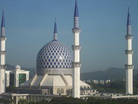 Mosquée de Kuala Lumpur, capitale de la Malaisie. (Photo : Fraser Cambridge)