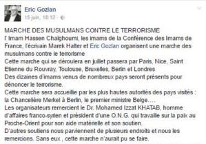 Les dessous de la « marche des musulmans contre le terrorisme »