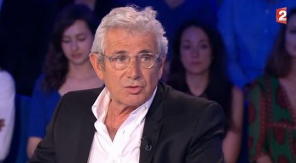 Le comédien Michel Boujenah à On n'est pas couché le 17 juin 2017.