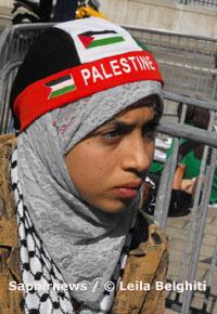 Amira Al Qerem demande une enquête pour crime de guerre et crime contre l'humanité auprès de la CPI.