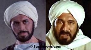 Michael George Ansara (version anglaise, à gauche) et Hamdi Gaith (version arabe).