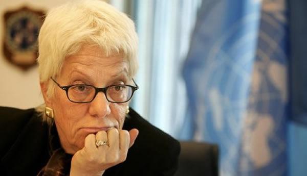 Carla Del Ponte accuse l'ONU de ne pas vouloir faire justice pour la Syrie