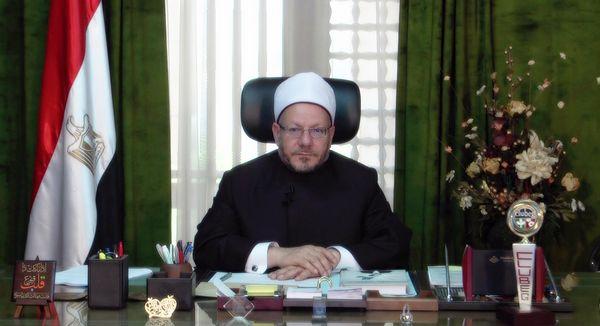 Le grand mufti d'Egypte Shawki Allam. © Dar Al-Ifta