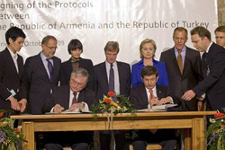 Un protocole historique entre Turquie et Arménie