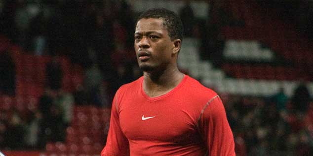 Patrice Evra © Gordon Flood / CC BY