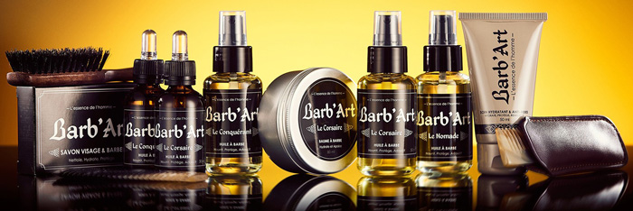 Gamme de produit Barb'Art