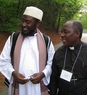 L'imam Muhammad Ashafa et le pasteur James Wuye.