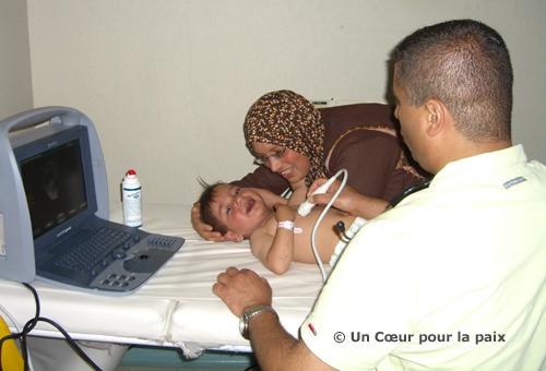 206 enfants palestiniens ont été opérés depuis la création, en 2005, de l'association Un Cœur pour la paix.