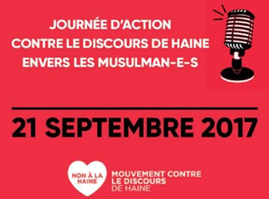 #NoHateSpeech : une journée d'action européenne contre l'islamophobie