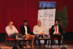 Au 2e colloque des intellectuels musulmans francophones. De gauche à droite : Ghaled Bencheikh, Sofiane Meziani, Slimane Rezki et Ramzi Daoud.