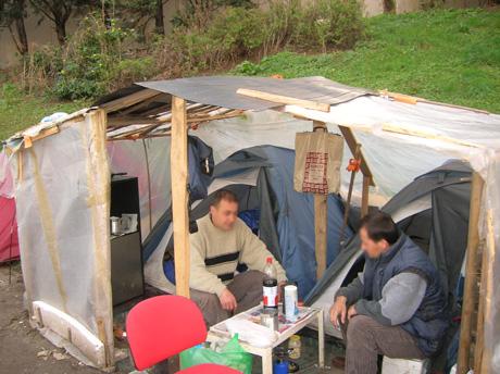 En France, plus de 100 000 personnes sont sans domicile fixe. (Photo : Amatullah)