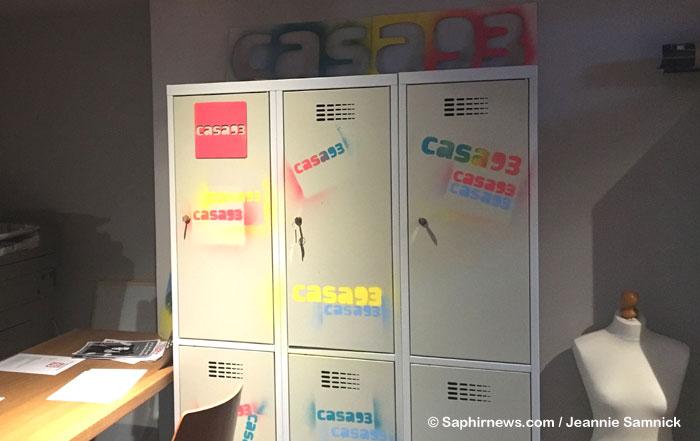 Casa 93, la nouvelle école de mode gratuite qui a ouvert ses portes le 30 septembre à Saint-Ouen (93).