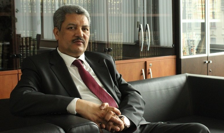Salah Echallaoui, président de l'Executif des musulmans de Belgique (EMB) © EMB