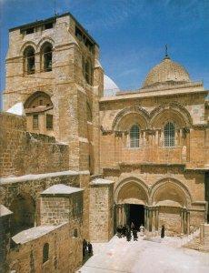 Eglise du Saint-Sépulcre, à Jérusalem.