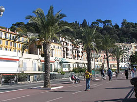 Promenade des Anglais, à Nice. (Photo : www.photos-voyage.com)