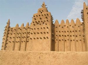 Grande Mosquée de Djenné, au Mali (Photo : F. Bandarin © UNESCO)