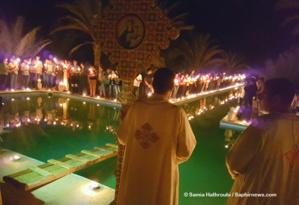 Procession de la Croix au sein du monastère d'Anafora.