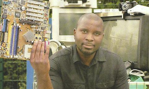 Alliance & Co, fondée par Daouda Sanogo en 2008, est une société de collecte et de traitement des DEEE. (Photo : Oxygène)