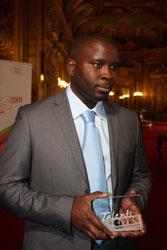 Daouda Sanogo a été lauréat du concours Talents des Cités, en octobre 2009.