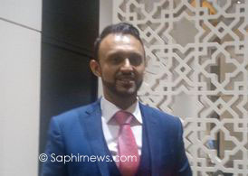 Zeshan Zafar, directeur exécutif du Forum pour la promotion de la paix.