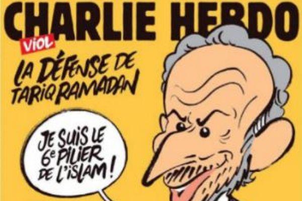 Menacé de mort, Charlie Hebdo a décidé de porter plainte après sa Une sur Tariq Ramadan parue mercredi 1er novembre.