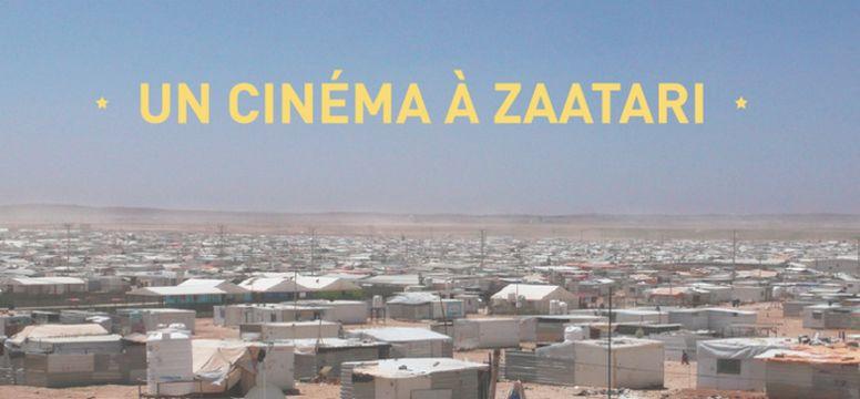 Des professionnels du 7e art se mobilisent pour offrir un cinéma à Zaatari, l'un des plus grands camps de réfugiés au monde située en Jordanie. © Jeanne Bizard