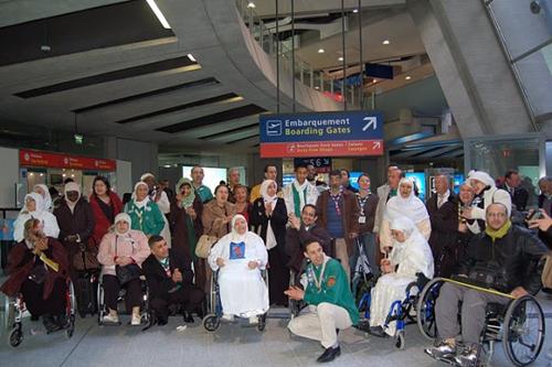 Les Scouts musulmans de France reconduisent le pèlerinage de « Saïda », initiée l'an dernier par Ryadh Sallem, triple champion d'Europe de handibasket.